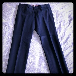 Navy blue Sloan work pants from Banana